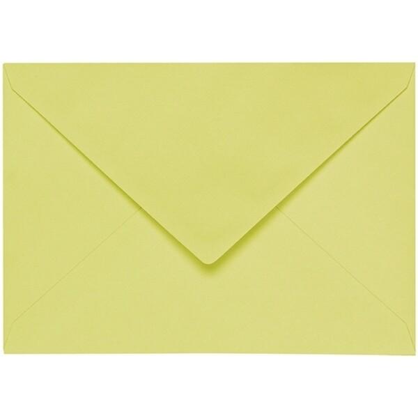 Artoz 1001 - 'Lime' Envelope. 229mm x 162mm 100gsm C5 Lined Gummed Envelope.