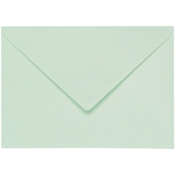 Artoz 1001 - 'Pale Mint' Envelope. 229mm x 162mm 100gsm C5 Lined Gummed Envelope.