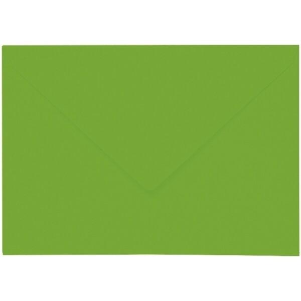 Artoz 1001 - 'Pea Green' Envelope. 229mm x 162mm 100gsm C5 Lined Gummed Envelope.