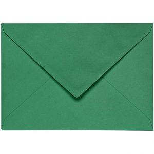 Artoz 1001 - 'Firtree Green' Envelope. 229mm x 162mm 100gsm C5 Lined Gummed Envelope.
