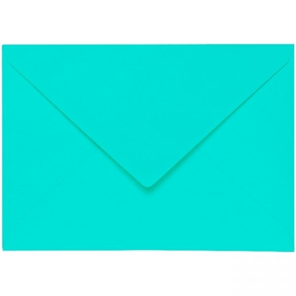 Artoz 1001 - 'Emerald Green' Envelope. 229mm x 162mm 100gsm C5 Lined Gummed Envelope.