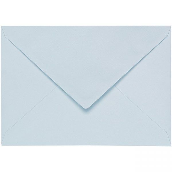 Artoz 1001 - 'Sky Blue' Envelope. 229mm x 162mm 100gsm C5 Lined Gummed Envelope.