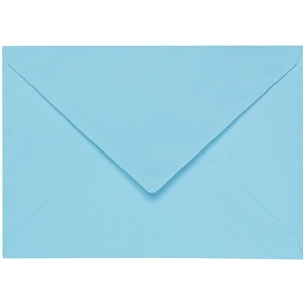 Artoz 1001 - 'Azure Blue' Envelope. 229mm x 162mm 100gsm C5 Lined Gummed Envelope.