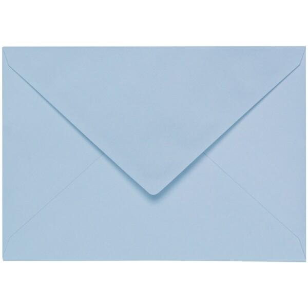 Artoz 1001 - 'Pastel Blue' Envelope. 229mm x 162mm 100gsm C5 Lined Gummed Envelope.