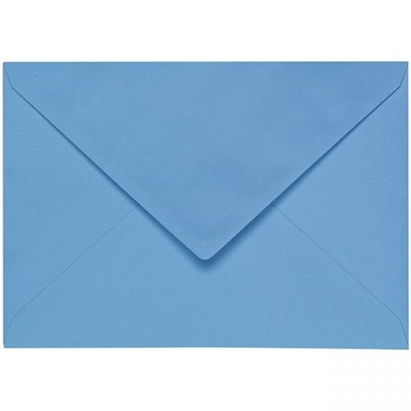Artoz 1001 - 'Marine Blue' Envelope. 229mm x 162mm 100gsm C5 Lined Gummed Envelope.