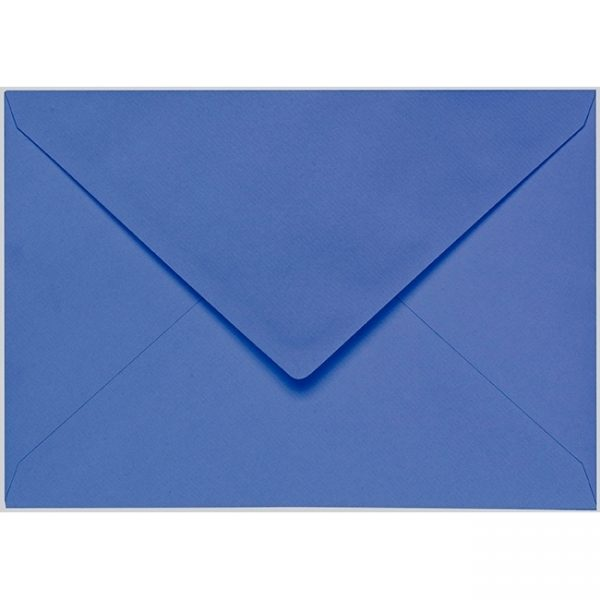 Artoz 1001 - 'Royal Blue' Envelope. 229mm x 162mm 100gsm C5 Lined Gummed Envelope.