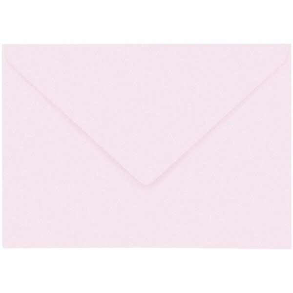 Artoz 1001 - 'Delicate Pink' Envelope. 229mm x 162mm 100gsm C5 Lined Gummed Envelope.