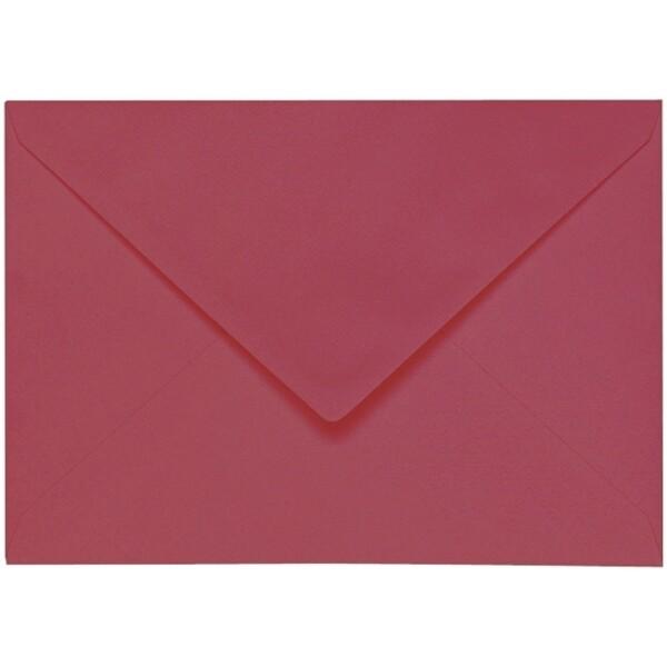 Artoz 1001 - 'Purple Red' Envelope. 229mm x 162mm 100gsm C5 Lined Gummed Envelope.