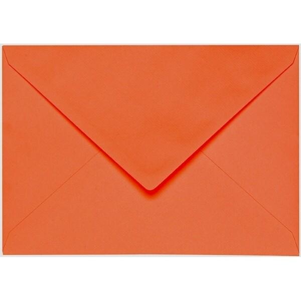 Artoz 1001 - 'Lobster Red' Envelope. 229mm x 162mm 100gsm C5 Lined Gummed Envelope.