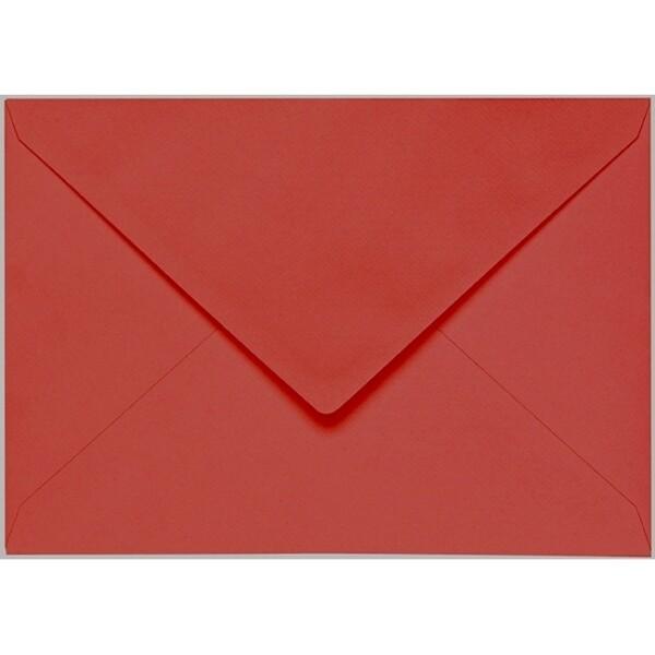 Artoz 1001 - 'Fire Red' Envelope. 229mm x 162mm 100gsm C5 Lined Gummed Envelope.