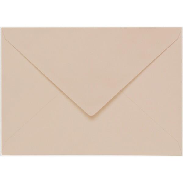 Artoz 1001 - 'Apricot' Envelope. 229mm x 162mm 100gsm C5 Lined Gummed Envelope.
