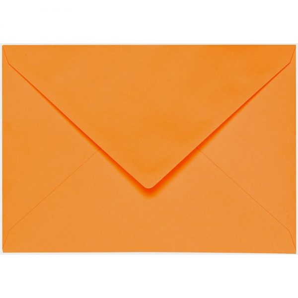 Artoz 1001 - 'Orange' Envelope. 229mm x 162mm 100gsm C5 Lined Gummed Envelope.