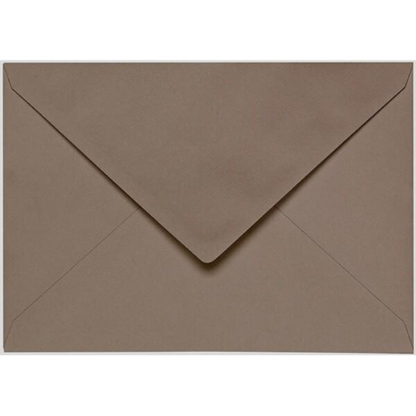 Artoz 1001 - 'Taupe' Envelope. 229mm x 162mm 100gsm C5 Lined Gummed Envelope.