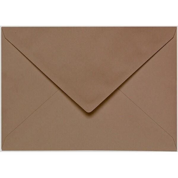 Artoz 1001 - 'Olive' Envelope. 229mm x 162mm 100gsm C5 Lined Gummed Envelope.