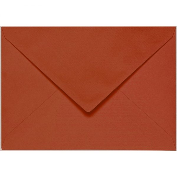 Artoz 1001 - 'Copper' Envelope. 229mm x 162mm 100gsm C5 Lined Gummed Envelope.
