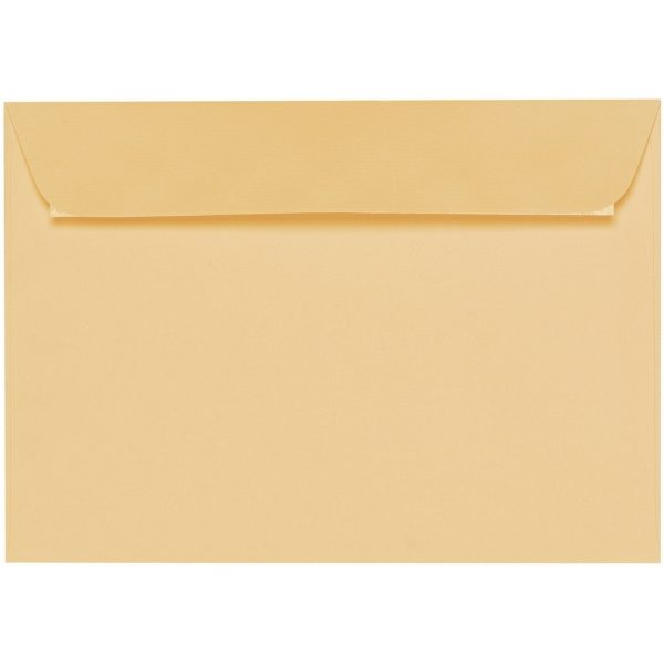 Artoz 1001 - 'Honey Yellow' Envelope. 229mm x 162mm 100gsm C5 Peel/Seal Envelope.