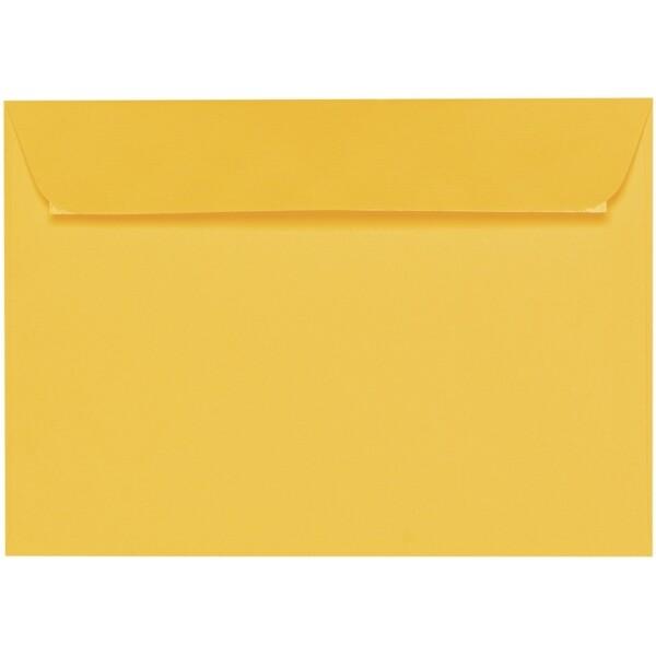 Artoz 1001 - 'Sun Yellow' Envelope. 229mm x 162mm 100gsm C5 Peel/Seal Envelope.
