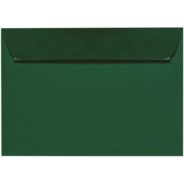 Artoz 1001 - 'Racing Green' Envelope. 229mm x 162mm 100gsm C5 Peel/Seal Envelope.