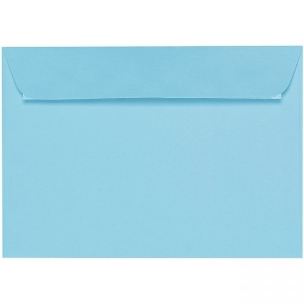 Artoz 1001 - 'Azure Blue' Envelope. 229mm x 162mm 100gsm C5 Peel/Seal Envelope.
