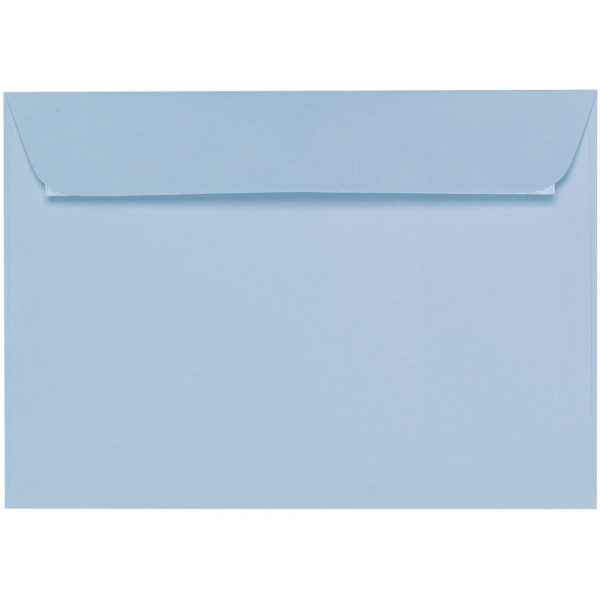 Artoz 1001 - 'Pastel Blue' Envelope. 229mm x 162mm 100gsm C5 Peel/Seal Envelope.