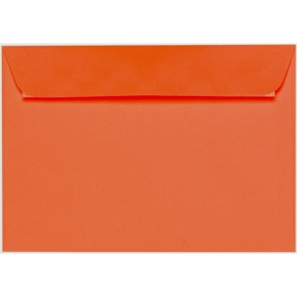 Artoz 1001 - 'Lobster Red' Envelope. 229mm x 162mm 100gsm C5 Peel/Seal Envelope.