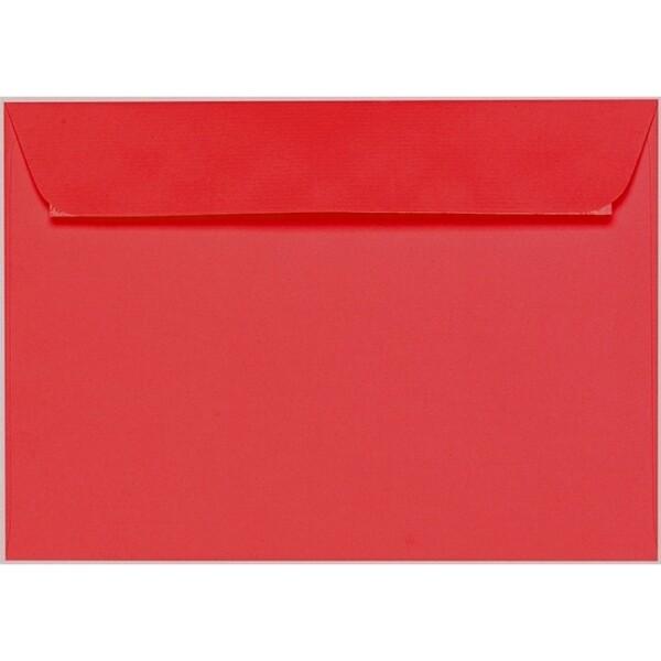 Artoz 1001 - 'Light Red' Envelope. 229mm x 162mm 100gsm C5 Peel/Seal Envelope.