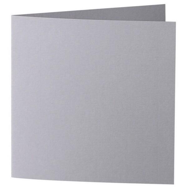 Artoz 1001 - 'Graphite' Card. 260mm x 130mm 220gsm Small Square Folded Card.