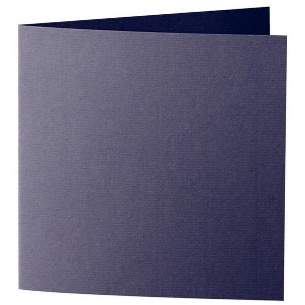Artoz 1001 - 'Jet Black' Card. 260mm x 130mm 220gsm Small Square Folded Card.