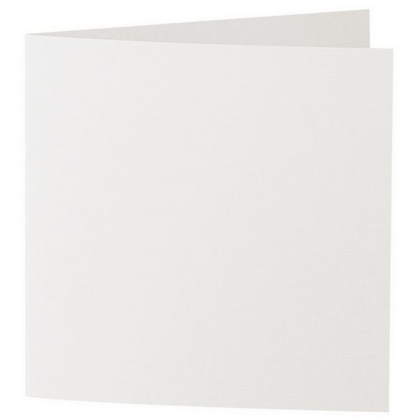 Artoz 1001 - 'Pale Ivory' Card. 260mm x 130mm 220gsm Small Square Folded Card.