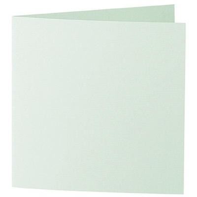 Artoz 1001 - 'Pale Mint' Card. 260mm x 130mm 220gsm Small Square Folded Card.