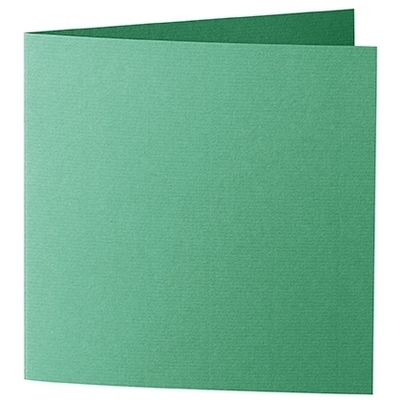 Artoz 1001 - 'Firtree Green' Card. 260mm x 130mm 220gsm Small Square Folded Card.