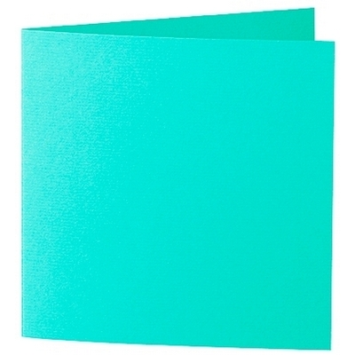 Artoz 1001 - 'Emerald Green' Card. 260mm x 130mm 220gsm Small Square Folded Card.