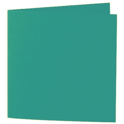 Artoz 1001 - 'Tropical Green' Card. 260mm x 130mm 220gsm Small Square Folded Card.