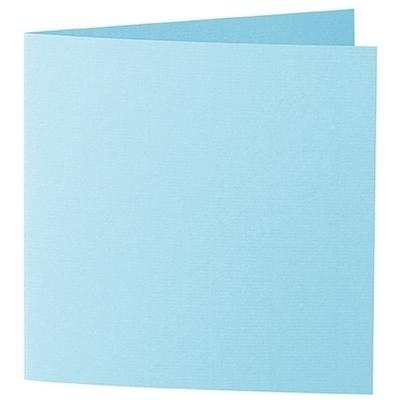 Artoz 1001 - 'Azure Blue' Card. 260mm x 130mm 220gsm Small Square Folded Card.