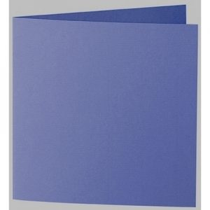 Artoz 1001 - 'Indigo' Card. 260mm x 130mm 220gsm Small Square Folded Card.