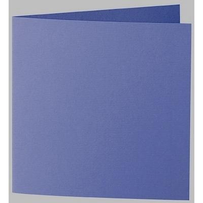 Artoz 1001 - 'Indigo' Card. 260mm x 130mm 220gsm Small Square Folded Card.
