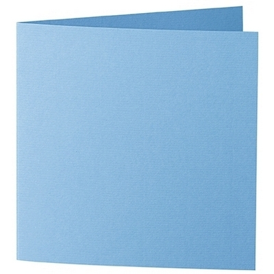 Artoz 1001 - 'Marine Blue' Card. 260mm x 130mm 220gsm Small Square Folded Card.