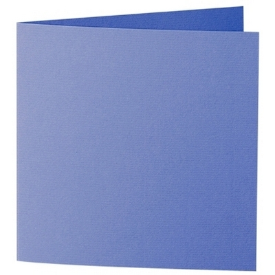 Artoz 1001 - 'Majestic Blue' Card. 260mm x 130mm 220gsm Small Square Folded Card.