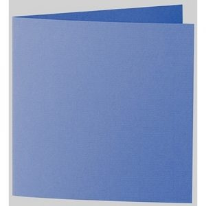 Artoz 1001 - 'Royal Blue' Card. 260mm x 130mm 220gsm Small Square Folded Card.