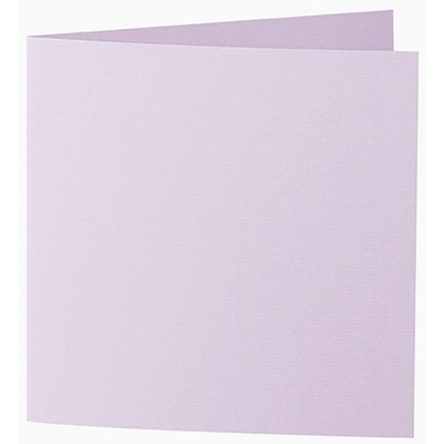 Artoz 1001 - 'Rose Quartz' Card. 260mm x 130mm 220gsm Small Square Folded Card.