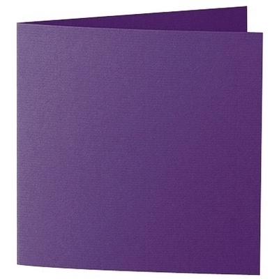 Artoz 1001 - 'Violet' Card. 260mm x 130mm 220gsm Small Square Folded Card.