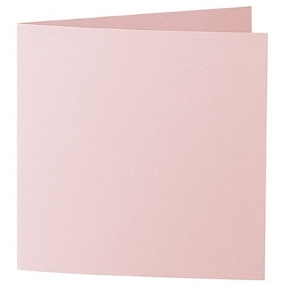 Artoz 1001 - 'Pink' Card. 260mm x 130mm 220gsm Small Square Folded Card.