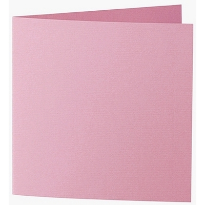 Artoz 1001 - 'Coral' Card. 260mm x 130mm 220gsm Small Square Folded Card.