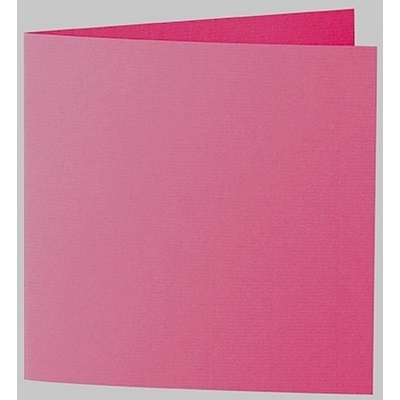 Artoz 1001 - 'Fuchsia' Card. 260mm x 130mm 220gsm Small Square Folded Card.