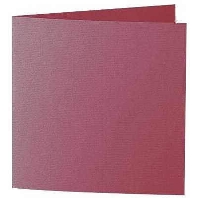 Artoz 1001 - 'Purple Red' Card. 260mm x 130mm 220gsm Small Square Folded Card.