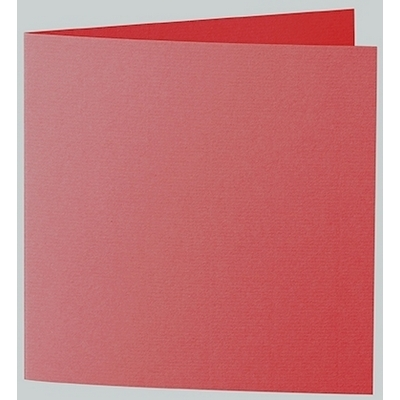 Artoz 1001 - 'Red' Card. 260mm x 130mm 220gsm Small Square Folded Card.