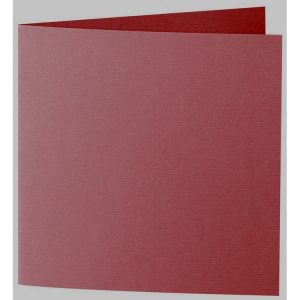 Artoz 1001 - 'Bordeaux' Card. 260mm x 130mm 220gsm Small Square Folded Card.
