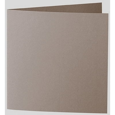 Artoz 1001 - 'Taupe' Card. 260mm x 130mm 220gsm Small Square Folded Card.
