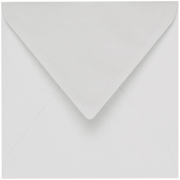 Artoz 1001 - 'Bianco White' Envelope. 135mm x 135mm 100gsm Small Square Gummed Envelope.