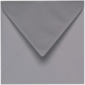 Artoz 1001 - 'Graphite' Envelope. 135mm x 135mm 100gsm Small Square Gummed Envelope.